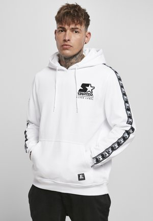 REGULAR FIT - Hoodie - white