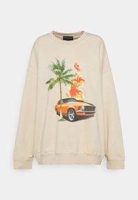 NEW girl ORDER - RETRO GRAPHIC - Sweatshirt - cream - 0