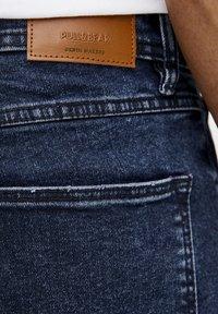 PULL&BEAR - Straight leg jeans - dark-blue denim - 4