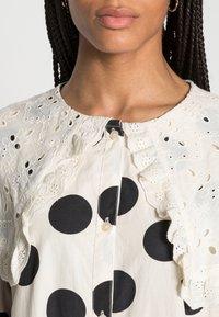 Love Copenhagen - DOTANA DRESS - Shirt dress - black white dot - 4