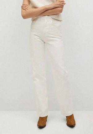 LOLA-I - Jean droit - gebroken wit