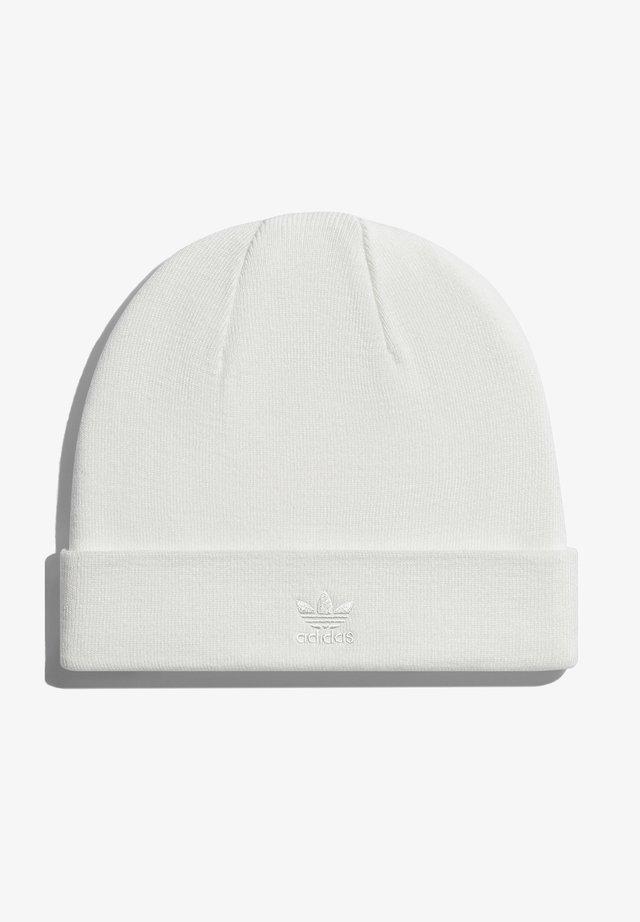 IVY PARK CUT-OFF LOGO BEANIE - Bonnet - core white