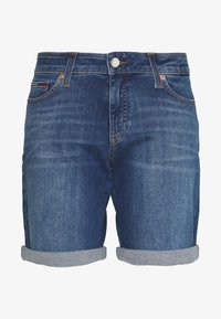 Tommy Jeans - MID RISE DENIM BERMUDA  - Denim shorts - audrey mid blue stretch - 0
