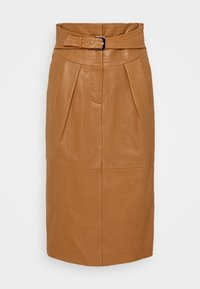 Alberta Ferretti - PIECES SKIRT - Pencil skirt - brown - 4