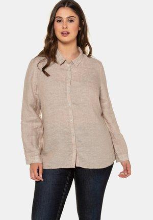 Button-down blouse - natur