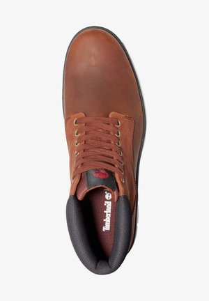 Lace-up ankle boots - medium brown nubuck