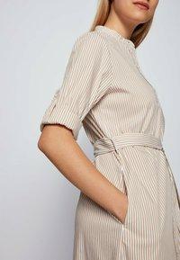 BOSS - DAMONA - Day dress - beige - 4