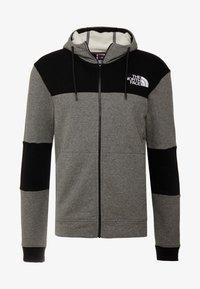 medium grey heather/black