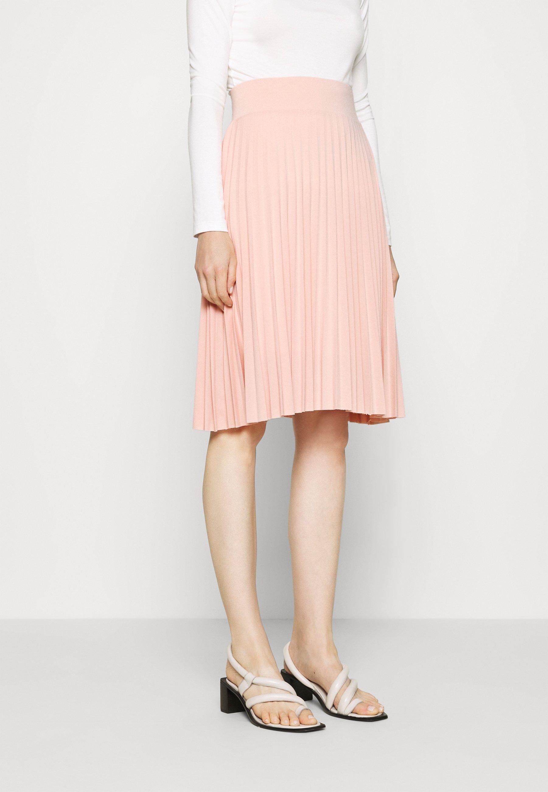Donna Plisse A-line mini skirt - Gonna a campana