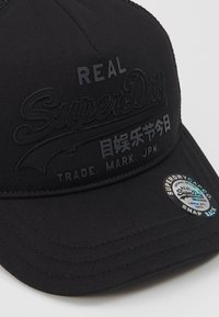 Superdry - VINTAGE LOGO TRUCKER - Caps - black - 2