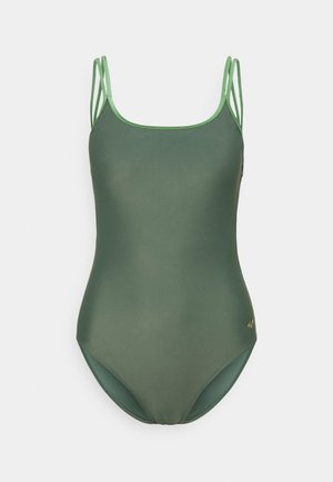SOLID BACK ONE PIECE - Maillot de bain - army