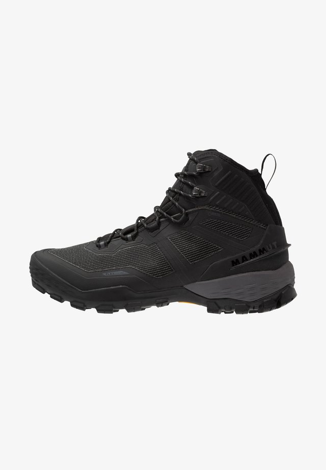 DUCAN PRO HIGH GTX MEN - Vinterstøvler - black/titanium
