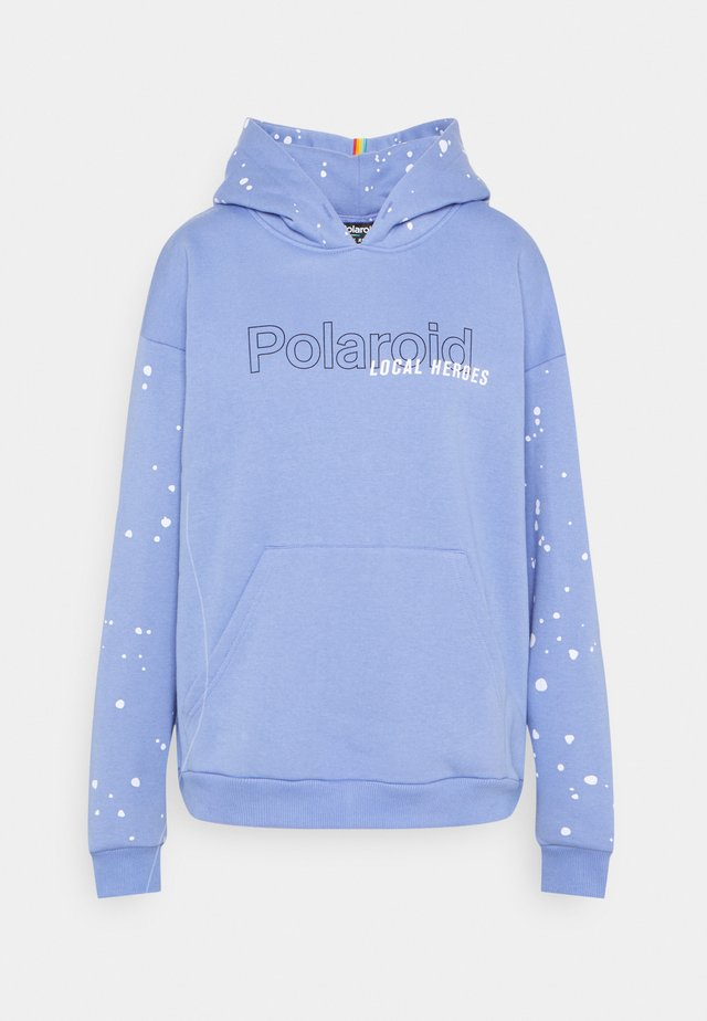 SPRAY VIOLET HOODIE - Sweater - violet
