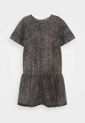 NMEMILIA DRESS  - Denim dress - medium grey denim