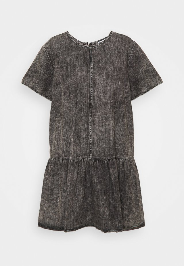 NMEMILIA DRESS  - Spijkerjurk - medium grey denim