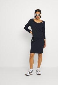 Ragwear - PENELOPE - Jersey dress - navy - 1