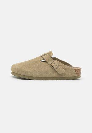 BOSTON SOFT FOOTBED UNISEX - Mules - faded khaki