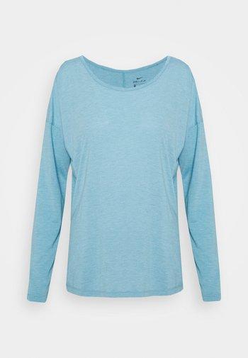 DRY LAYER  - Sports shirt - cerulean heather/glacier blue/armory blue