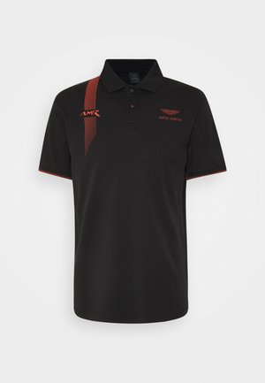 DYNAMIC LINES - Polo - black