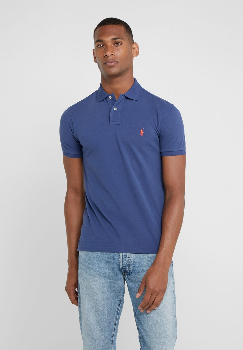 Polo Ralph Lauren - SLIM FIT MODEL  - Polo - light navy/red