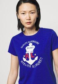 Polo Ralph Lauren - Print T-shirt - heritage royal - 3