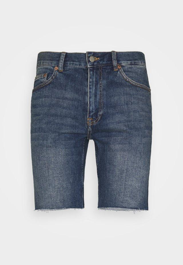 CLARK - Short en jean - creek dark blue
