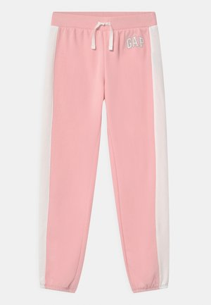 GIRL LOGO - Tracksuit bottoms - light shell pink