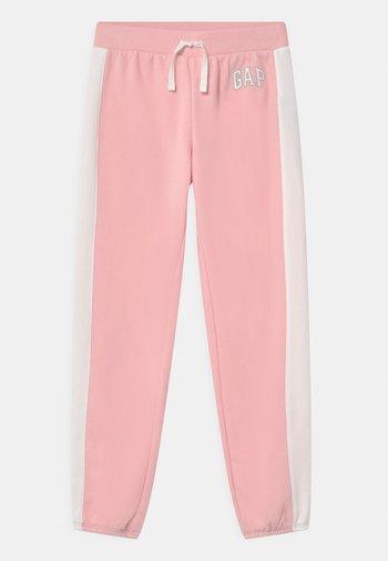 GIRL LOGO - Teplákové kalhoty - light shell pink