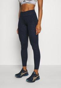 Sweaty Betty - ALL DAY CROP LEGGINGS - Leggings - navy blue - 0