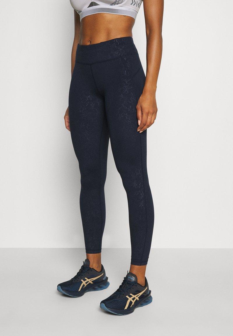 Sweaty Betty - ALL DAY CROP LEGGINGS - Leggings - navy blue