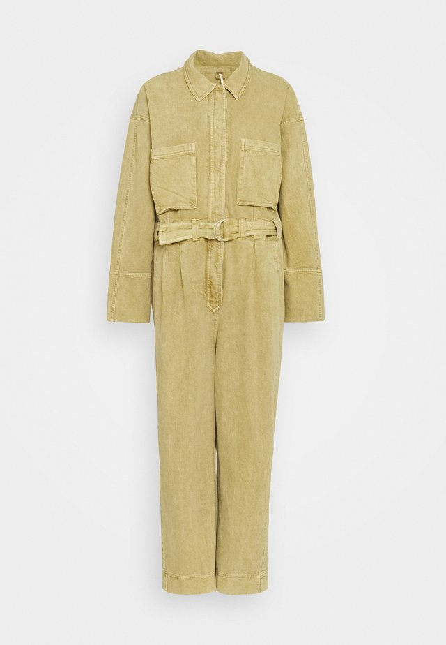 WAYWARD SUPER SLOUCH COVE - Jumpsuit - ginger