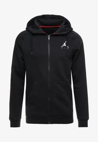 Jordan - Mikina na zip - black/white - 4