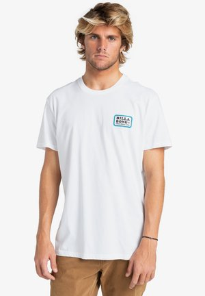 WALLED - T-shirt con stampa - white