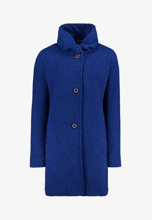 MIT STEHKRAGEN - Classic coat - bright blue melange