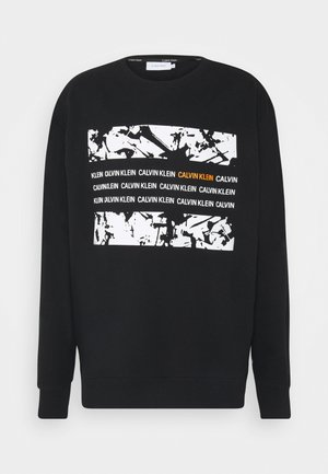 GRAPHIC BOX - Sweatshirt - black