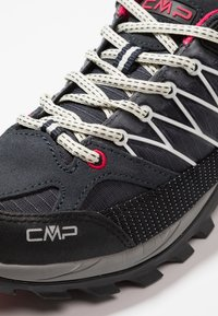 CMP - RIGEL LOW TREKKING SHOE WP - Hiking shoes - antracite/offwhite - 5