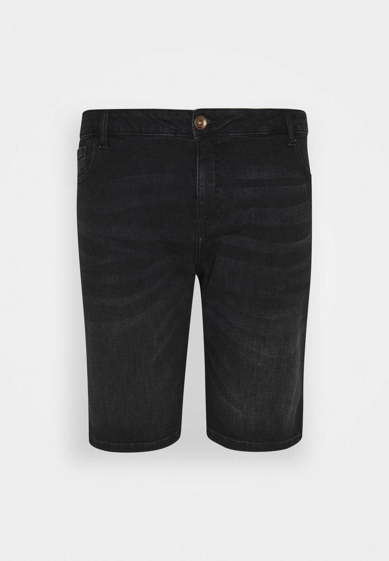 Cars Jeans - LODGER PLUS - Denim shorts - black