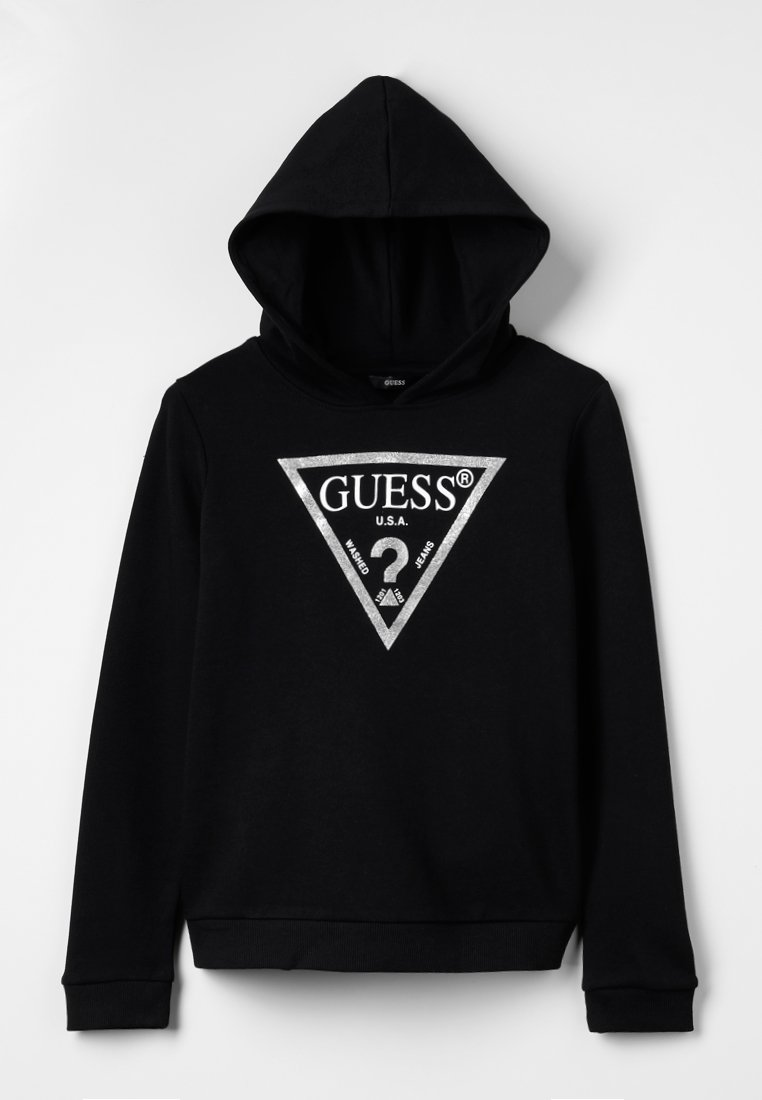 Guess - ACTIVEWEAR CORE - Mikina - jet black/frost