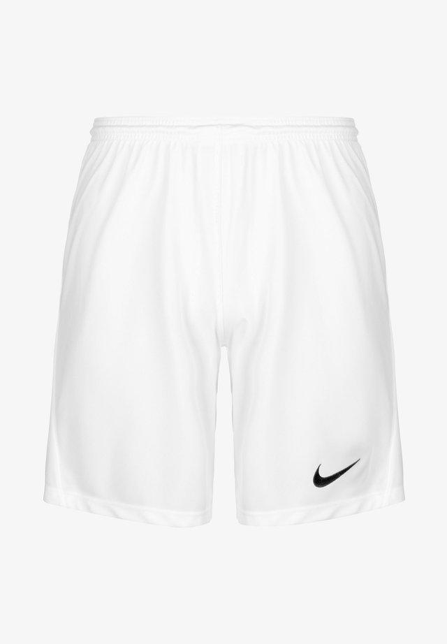 DRY PARK III - Pantaloncini sportivi - white / black