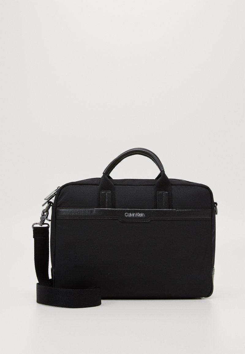 Calvin Klein - LAPTOP BAG - Briefcase - black