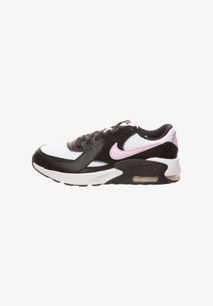 Sneakers laag - black / light artic pink / white / black