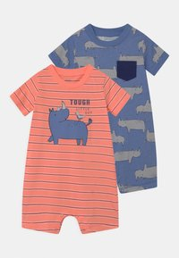 Carter's - RHINO 2 PACK - Jumpsuit - red/blue - 0