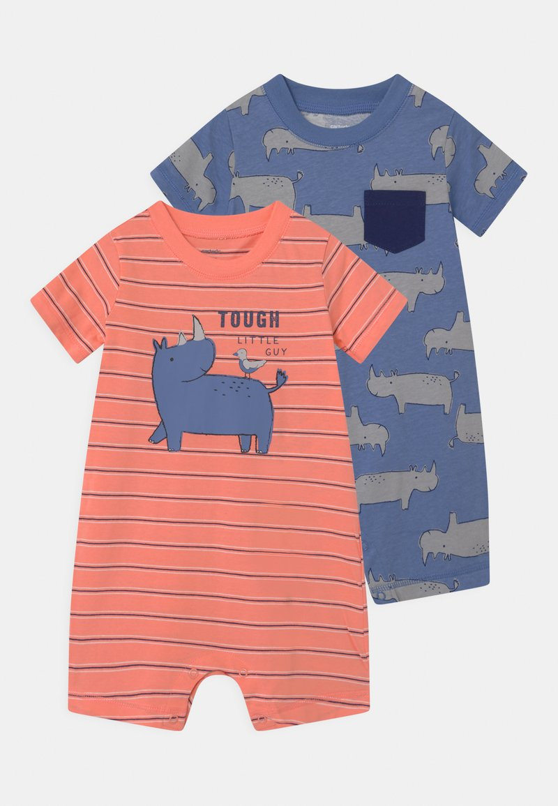 Carter's - RHINO 2 PACK - Jumpsuit - red/blue