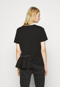River Island - Print T-shirt - black - 2