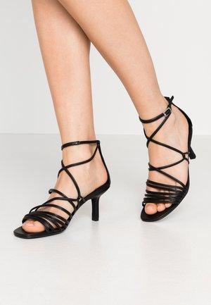 AMANDA - Sandals - black