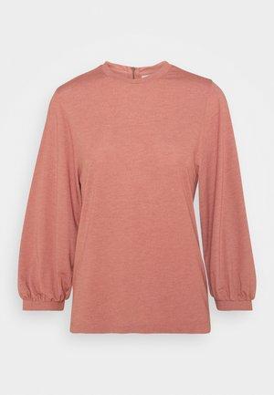 JDYANNELINE - Long sleeved top - withered rose melange
