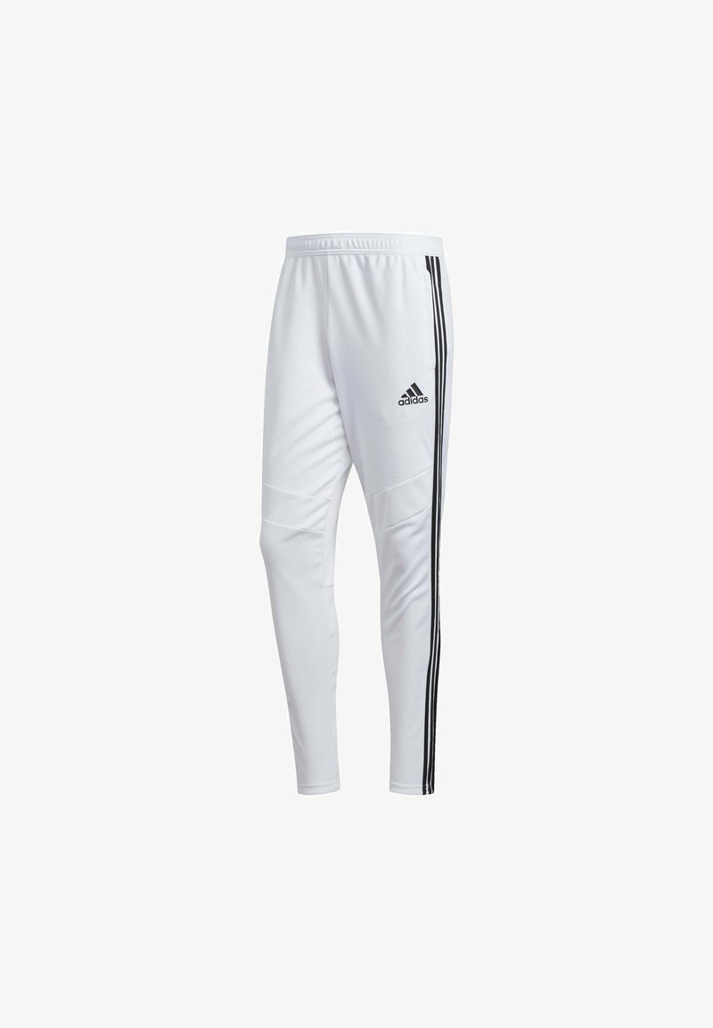 adidas Performance - TIRO 19 AEROREADY PANTS - Pantalon de survêtement - white
