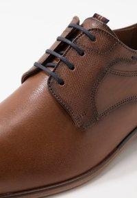 Lloyd - DARGUN - Smart lace-ups - cognac - 5