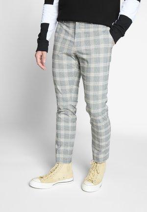 ULTRA CHECK - Kalhoty - beige