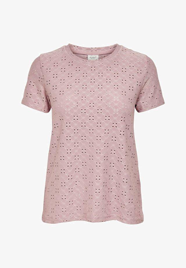 JDYCATHINKA - T-shirts med print - woodrose